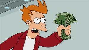 umění přijímat Co je umění přijímat? shut up and take my money by lolikips 300x169