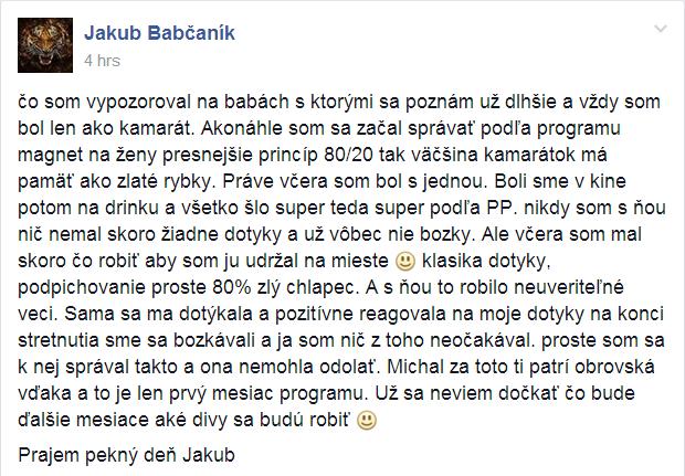 Jakub chlap20.sk Ubehlo to tak rýchlo… 3 roky chlap20.sk jakub referencia