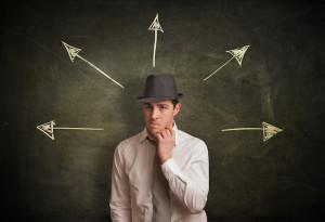 Businessman doubtful sebavedomie [3/10] Ako získaš zdravé sebavedomie? | 10 krokov do vzťahu Dollarphotoclub 47517283 300x205