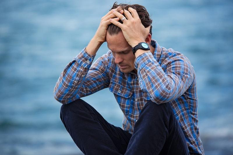 nevzdávať sa Prečo sa NIKDY nevzdávať? muz smutok hnev pocityjpg