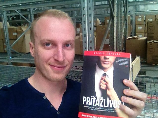 Kniha Príťažlivosť vytlačená chlap20.sk 5 rokov chlap20.sk kniha pritazlivost tlac