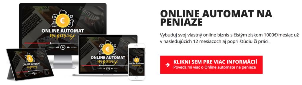 Prémiový kurz Online automat na peniaze chlap20.sk 6 rokov chlap20.sk Sni  mka obrazovky 2018 01 06 o 18