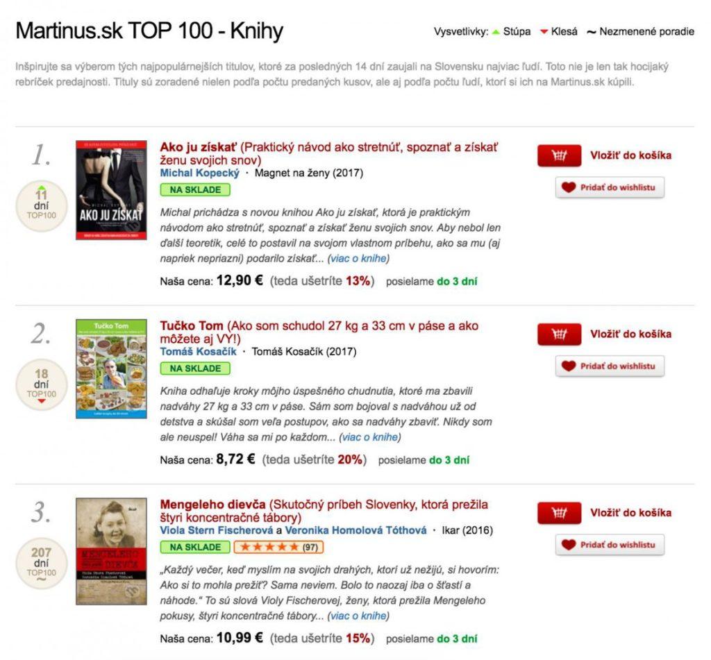 Ako ju získať bestsellerom na Martinus.sk chlap20.sk 6 rokov chlap20.sk akojuziskat2