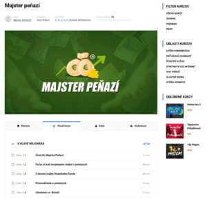 majster peňazí Náhľad do členskej sekcie Majster peňazí: Toto všetko obsahuje majster penazi1 300x288